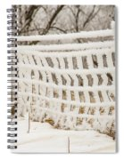 Feather Dusted Spiral Notebook