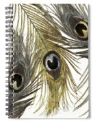 Feather Fashion Spiral Notebook