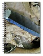 Feather On The Forest Floor Spiral Notebook