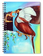 Feather Touch Spiral Notebook