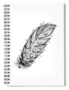 Feather1 Spiral Notebook