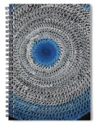Feathered Portal Original Painting Spiral Notebook