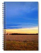 February Fields Spiral Notebook