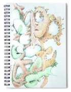 Fecundity Spiral Notebook