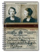 Federal Prohibition Agent Daisy Simpson 1921 Spiral Notebook