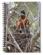 Feeding Frenzie Spiral Notebook
