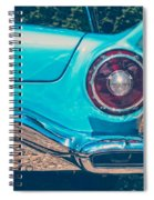 Feel The Thunder Spiral Notebook