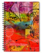 Feeling Alone And Invisible Spiral Notebook