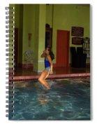 Feet First  Spiral Notebook