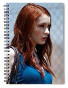 Felicia Day Spiral Notebook