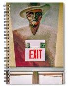 Fellini's Exit - Nola Spiral Notebook
