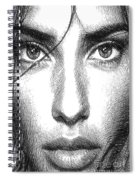 Female Expressions 936 Spiral Notebook