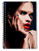 Female Expressions Liv Spiral Notebook