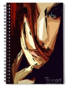 Female Expressions Xiii Spiral Notebook
