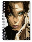 Female Expressions Xliv Spiral Notebook