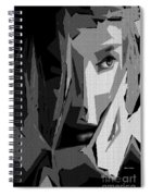 Female Expressions Xlv Spiral Notebook