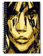 Female Expressions Xlvi Spiral Notebook