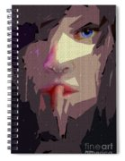 Female Expressions Xlvii Spiral Notebook
