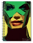 Female Expressions Xv Spiral Notebook
