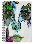 Female Expressions Xvii Spiral Notebook