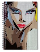 Female Expressions Xviii Spiral Notebook