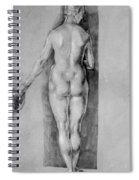 Female Nude 1506 Spiral Notebook
