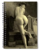Female Nude, Circa 1900 Spiral Notebook