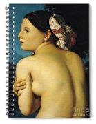Female Nude Spiral Notebook