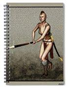 Female Pike Guard - Warrior Spiral Notebook