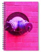 Female Pipe Spiral Notebook