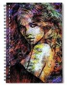 Female Portrait 1955 Spiral Notebook