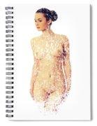 Female Torso #15 Spiral Notebook