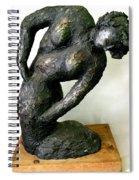 Female Torso Spiral Notebook
