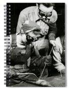 Female Welders - Ww2 Homefront - 1943 Spiral Notebook