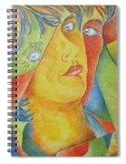 Femme Aux Trois Visages Spiral Notebook