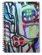 Femme-fatale-1 Spiral Notebook