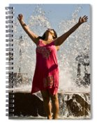 Femme Fountain Spiral Notebook