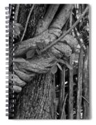 Fence In The Tropics Spiral Notebook