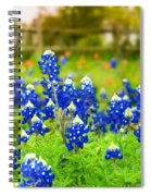 Fence Me In With Flowers Spiral Notebook
