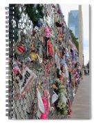 Memories Fence Spiral Notebook