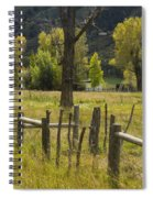 Fence Posts Spiral Notebook