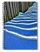 Fence Shadows Spiral Notebook