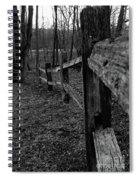 Fence To Nowhere Spiral Notebook