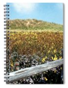 Fence With A View Spiral Notebook