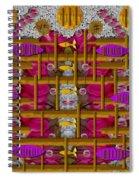Fences Around Love In Oriental Style Spiral Notebook