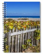 Fences On The Dunes Spiral Notebook
