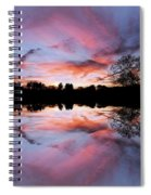 Fencing Reflections Spiral Notebook