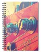 Fender Bass Guitar Spiral Notebook