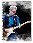 Fender Man Spiral Notebook