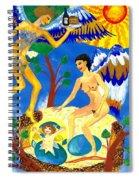 Feral Angels Spiral Notebook